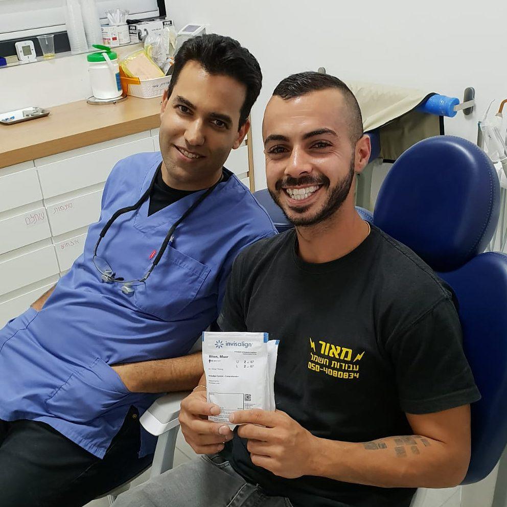יישור שיניים למבוגרים אינויזליין